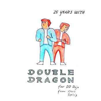 Double Dragon - my 25th Anniversary Art by selectmodeb