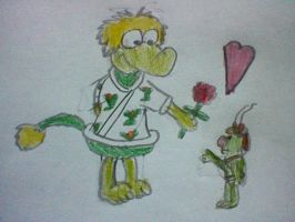 Fraggle and Doozer Love by nintendolover2010