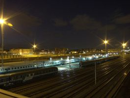 Station lights by crusaderky