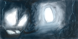 Speed painting cave by BenficaSantos