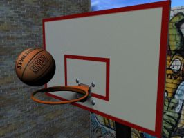 Basket-Ball by gevelegian