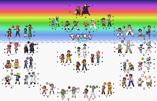 Finale: The Trainers of Pokemon Prism by Megaman-Omega