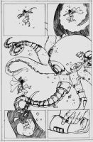 Space Ghost page 4 pencils by CrimeRoyale