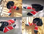 Mai Shiranui Cosplay Shoes by ViNa-Shiranui