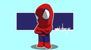 Lil Bit O' Spidey by SolidCitizen62