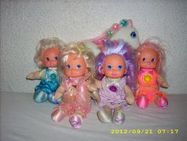 P.J. Sparkles Soft Body Dolls 80s Collection by kratosisy