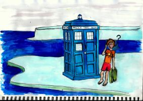 The Tardis on Holiday Part II by UndeniablyJess