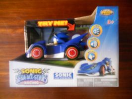 SaSASR Sonic Lights/Sounds/Motion Car by BoomSonic514