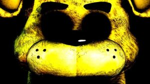 Golden Freddy's Face (Shadows) by Ninjago-Fan