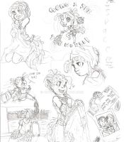 raquel sketches by Aibyou