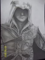 Ezio (Assassin's Creed 2) by Eternal--Art