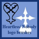 Kingdom Hearts Brushes by Myrothia