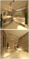 master bathroom by kasrawy