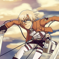 Attack on Titan, Rico Brzenska by Cherry-Plasma