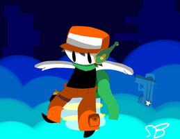 Not really a CAVE story by TheRedSofWin