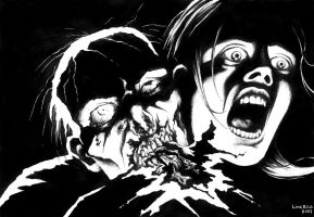 Death by Zombie by LinaLightning