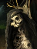 The Withered One by OrestesGraphics
