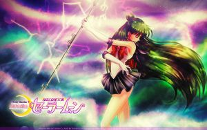 Sailor Pluto Dead-Scream WP by Axsens