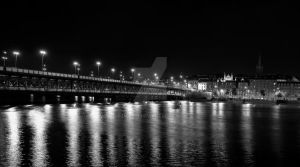Craigavon Bridge at Night by Dave-D