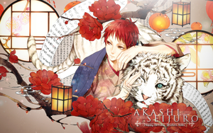 Akashi Seijuro Wallpaper [Birthday Gift] by XanxusVariaBoss