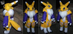 Commission Renamon by YutakaYumi