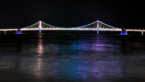 Gwangan Bridge by freeskifreeride