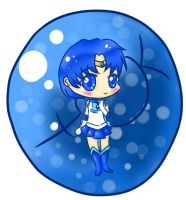 Sailor Mercury Chibi by kilala909