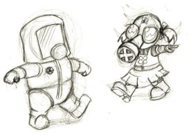 fallout babies by bison-or-tatonka