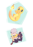 Newcomer - Charmander by chaoticshero