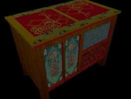 Tibetan Drawer by kiem