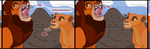 Simba's Game by TLK-Peachii