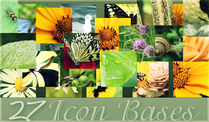 Icon Bases by crystalcleargfx