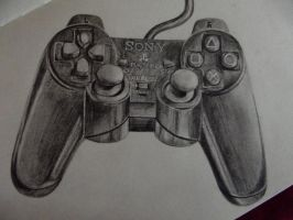 PS2 Controller by ChelseaMerritt1995