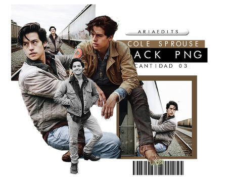 cole sprouse pack png by AriaEdits