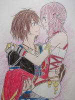 .:Noel x Serah:. by Lightning97