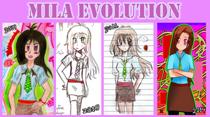 Mila Evolution by superalvichan