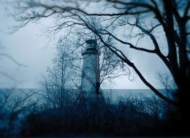 Lighthouse on Pelee Island by vanfoto