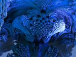 Juliabulb Blue All Around by crotafang