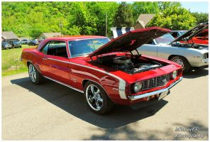 A Sharp Red 1969 Camaro SS by TheMan268