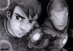 Iron Man Tony Stark by Sylwis