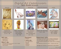 Digital Art Commissions Sheet by Tebyx