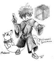Yoshimori and Madarao by Trinosaur