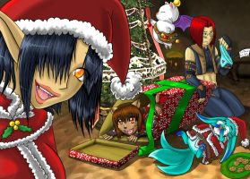 Merry Christmas Party by FFXI-Artico