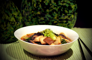 Udon Miso Soup by McKenzie-James
