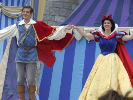 Snow White and her Prince by stitchcountry