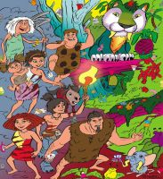 The Croods juego by sapienstoonz