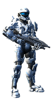 Captain Theron-A317 (Halo 4/post-war) by CYBERDYNE101