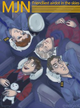 Cabin Pressure by applejaxshii