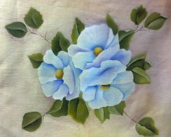 Flores azules | Blue flowers by Claudiamoonligth