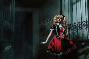Harley Quinn_Batman by AMPLE-COSPLAY